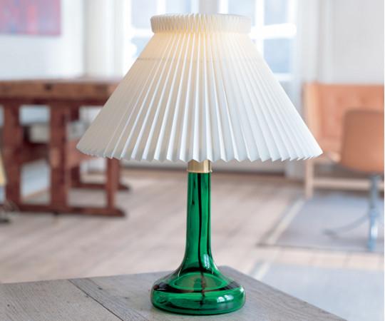 Le Klint 343 Bordlampe - Grøn