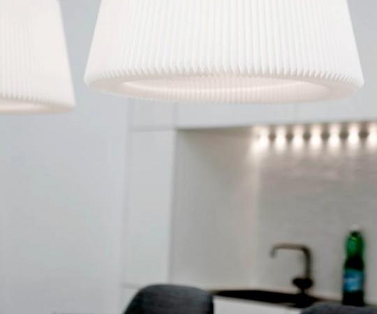 Le Klint Snowdrop Pendel Lampe - 120L - Large - Hvid Papir