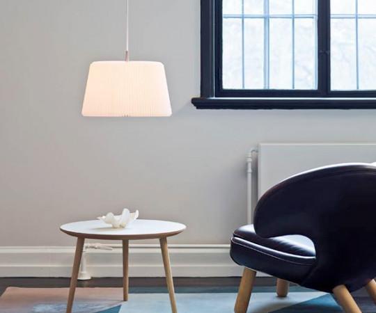 Le Klint Snowdrop Pendel Lampe - 120M - Medium - Hvid Papir