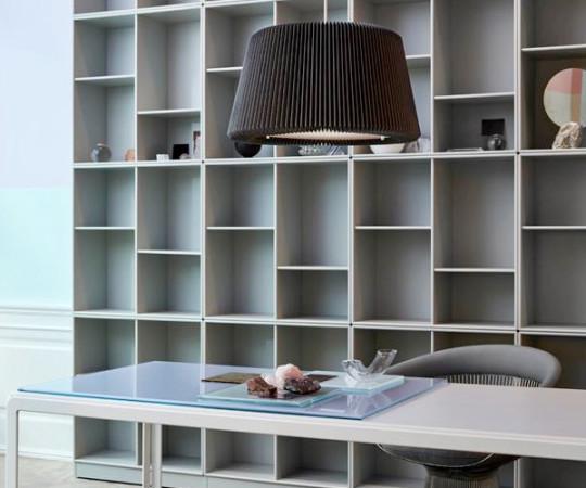 Le Klint Snowdrop Pendel Lampe - 120M - Medium - Grå Papir