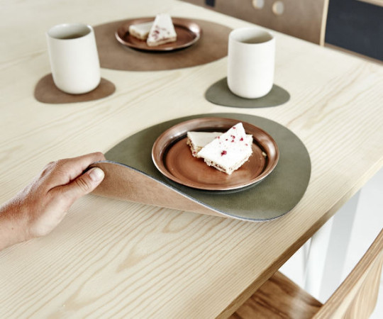 Linddna Tablemat Oval Double 35x46cm