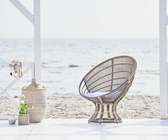 Sika Design Luna stol - Moccachino