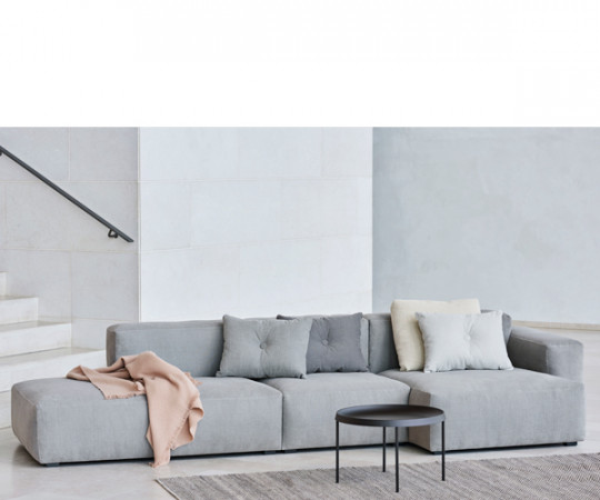 HAY Mags Soft Sofa - Low Arm - Combination 4 - Venstre - Linara Stof