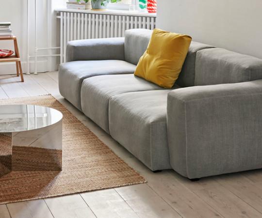 HAY Mags Soft Sofa - Low Arm - 3P. - Linara Stof 443