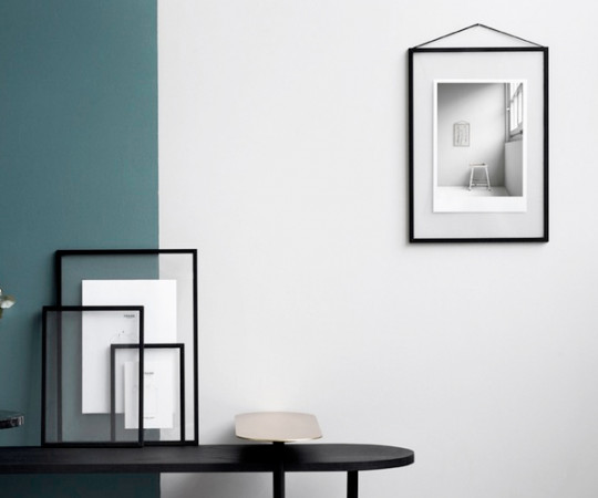 Moebe Frame Sort Aluminium - A3