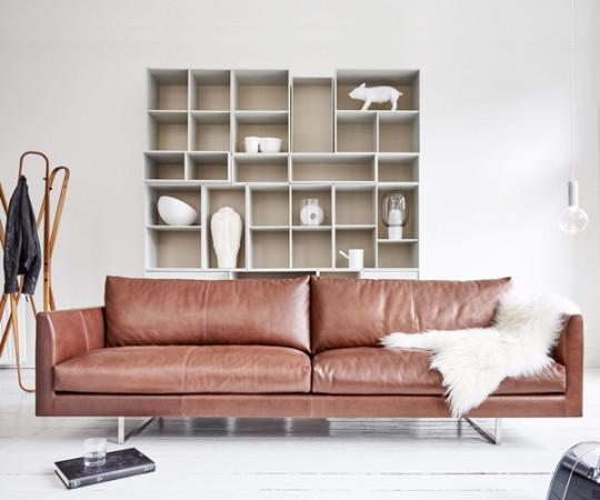 Montis Axel sofa Rancho Læder - 3,5 Pers.