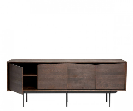 Muubs Wing Sideboard 4-door - Smoked Oak