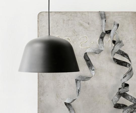 Muuto Ambit Pendel Lampe - Small - Sort