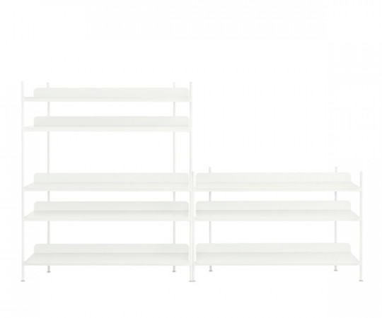 Muuto Compile Shelving System - Config. 7