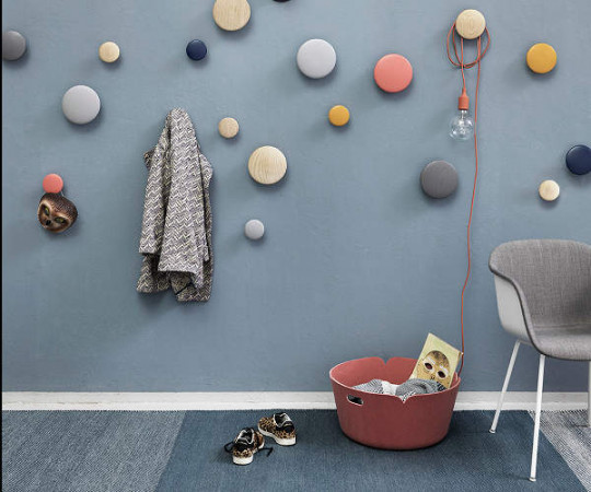 Muuto The Dots Clay Brown - Stor