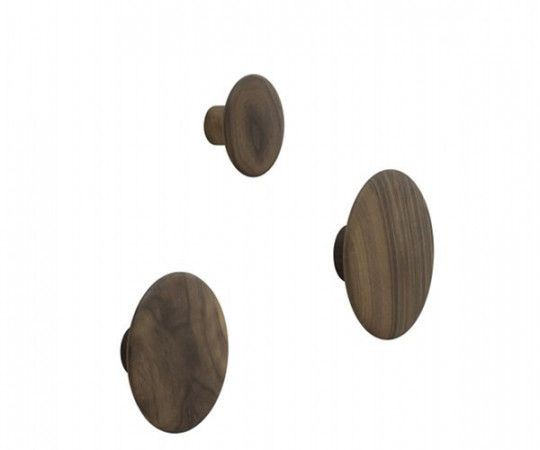 Muuto The Dots - Walnut - Lille