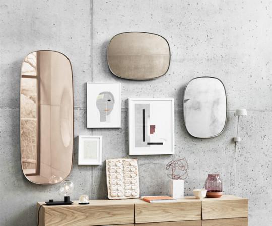 Muuto Framed Mirror / Spejl - Lille