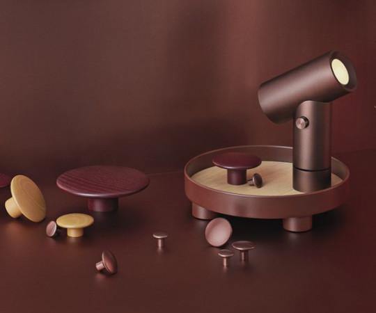 Muuto The Dots Burgundy - Small