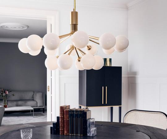 Nurra Apiales 18 Lampe - Brass