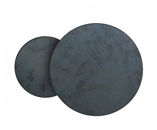 Notre Monde Charcoal Nesting sofaborde - sæt á 2
