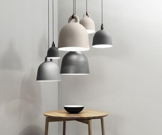 Normann Copenhagen Bell lamp x-small grey