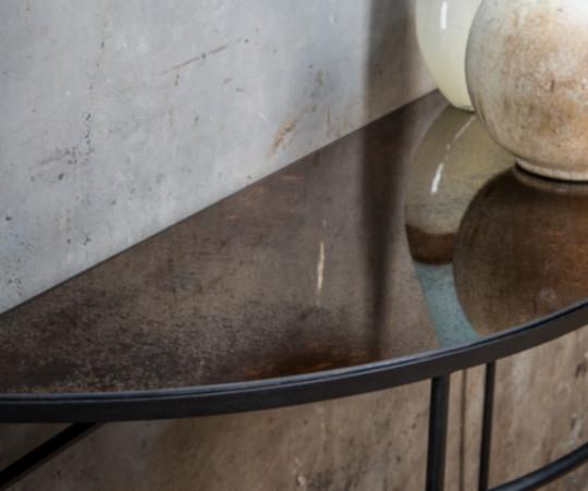 Notre Monde Heavy Aged Bronze Halfmoon konsol
