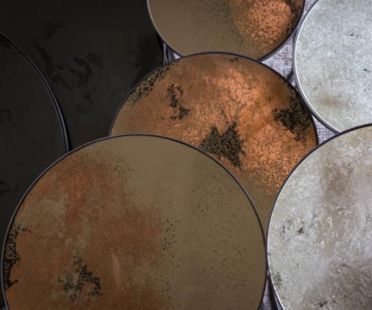 Notre Monde Bronze Nesting sideborde - sæt á 2