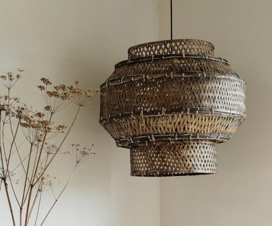 Oi Soi Oi Colonial bamboo lampeskærm