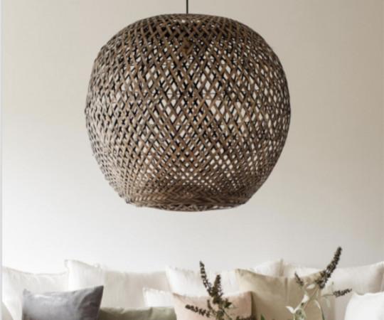 Oi Soi Oi Bamboo lampeskærm - L