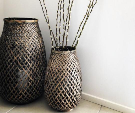 Oi Soi Oi Bamboo lanterne - large