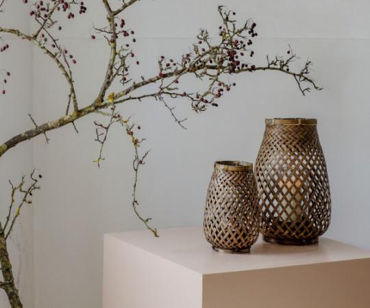 Oi Soi Oi Bamboo lanterne - medium
