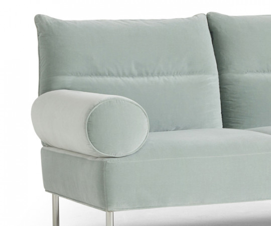 HAY Pandarine 2 Pers. Sofa - Cylindrical Arm - Harald - 823