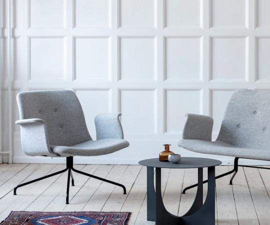 Bent Hansen Primum Lounge Stol - Med Armlæn - Hallingdal 130