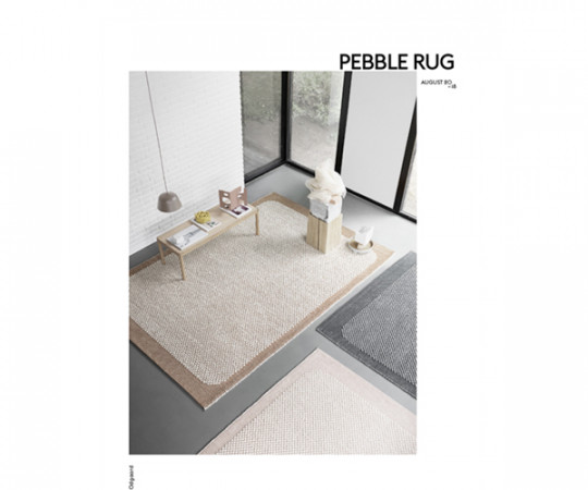 Muuto Pebble Rug - Pale Rose - 200x300cm.