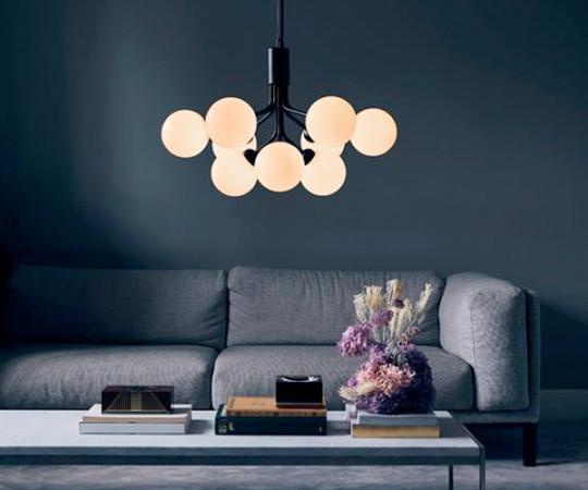 Nurra Apiales 9 Lampe - Satin Black