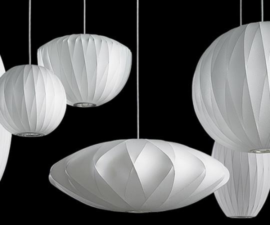 Herman Miller Saucer Crisscross Bubble Lampe - Medium
