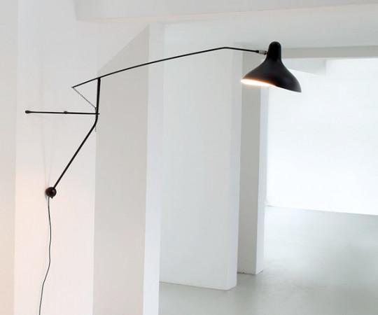 Schottlander Mantis BS2 Væglampe - Sort