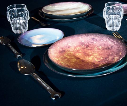 Seletti x Diesel Cosmic Dinner - Sun Tallerken/Fad