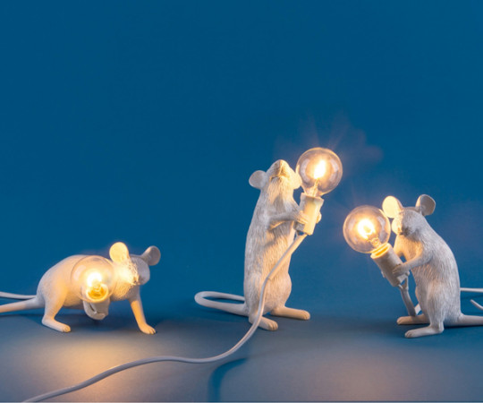Seletti Mouse Lamp - Lyie Down Table