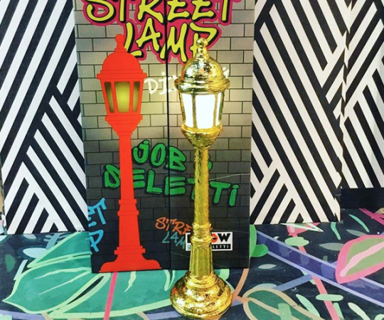 Seletti Street Dining Lamp - Guld Farvet