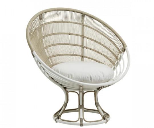 Sika Design Luna Alu - dove white - inkl hynde
