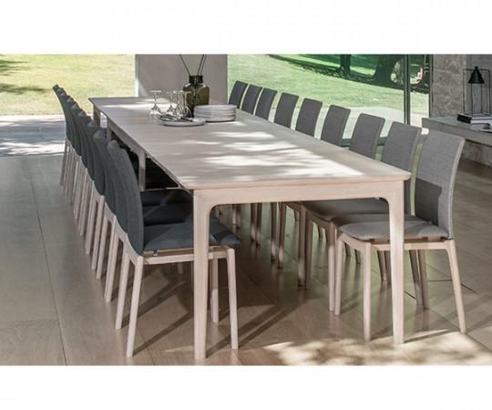 Skovby SM 27 Spisebord Med Udtræk - Massiv Eg