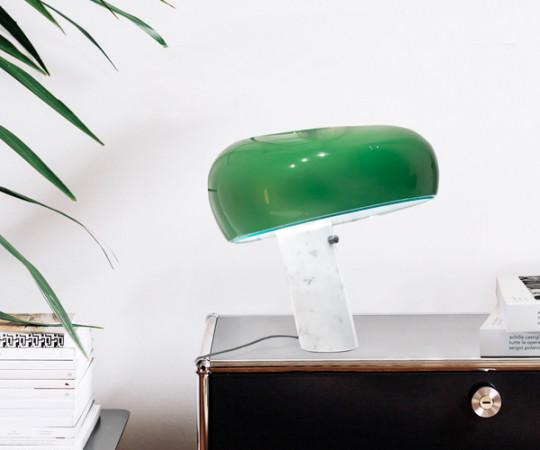 Flos Snoopy Bordlampe - Grøn Skærm