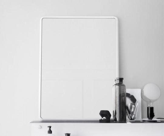 VIpp 911 Spejl - Lille - Hvid