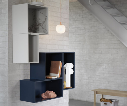 Muuto Mini Stacked 2.0 - Medium - Midnight Blue