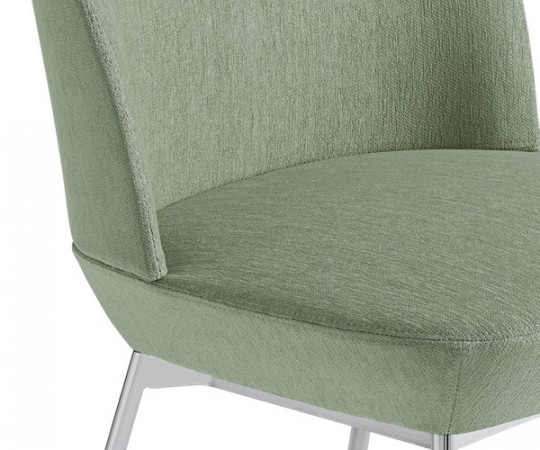 Muuto Oslo Side Chair - Still 941/Chrome