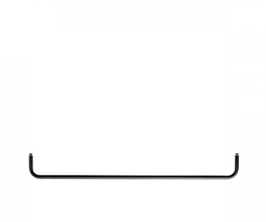 String Bøjlestang 78x30cm - Sort