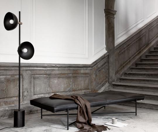 Handvark - Studio Floor Lamp - Brass