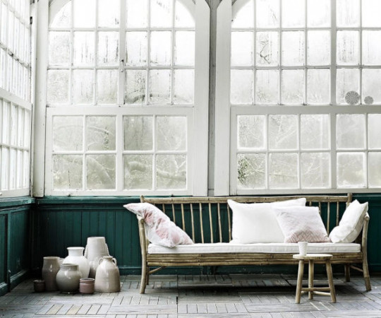 Tine K Home Bambus New loungesofa - hvid hynde