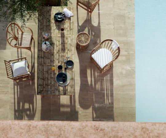 Tine K Home Bambus spisebord - 250x100