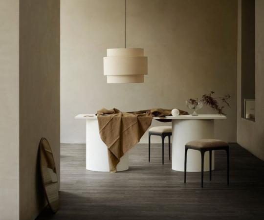 Tine K Home Hør XL lampeskærm - shadow - 60x48