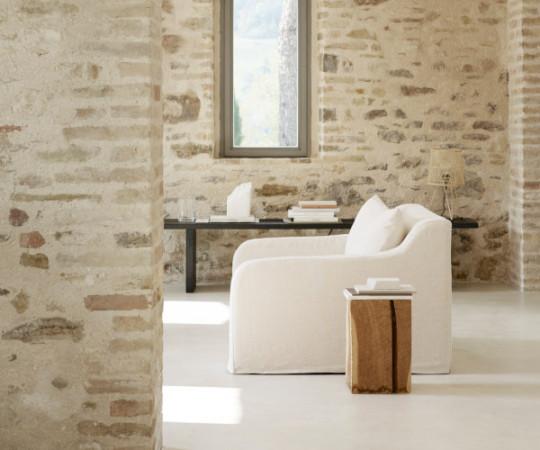 Tine K Home Lænestol Soft - ica white