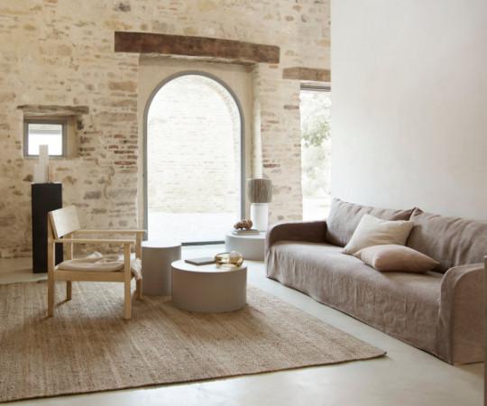 Tine K Home Sofa Soft XL - stone camel