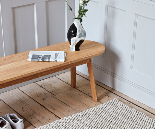 Hay Triangle Bench - 150cm - Olieret Eg