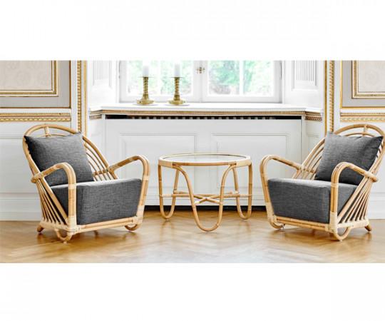 Sika Design Charlottenborg Stol - Inkl. Hyndesæt - A669 Dark Grey